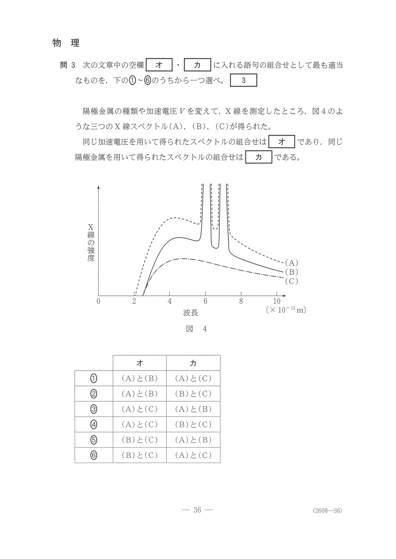 2019年 平成31年,令和元年 理科Ⅱ|物理 大学入試センター試験過去問